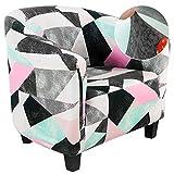 Jodimitty Funda de Sillón Chesterfield Cubre Sofá Chester 1 Plaza avables Modernas Fundas Protector de Muebles Elegante para Recepción Tub Chair Sillón