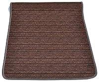 casa tessile tappeto cucina melange largo 53 cm. - marrone, 200 cm.