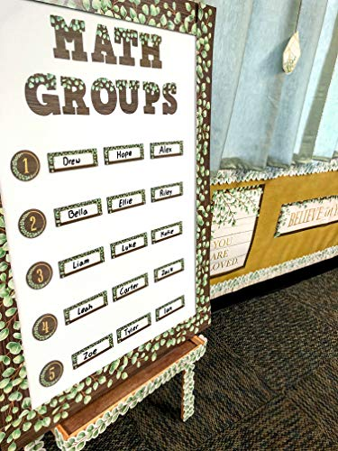 """Teacher Created Resources Eucalyptus Bold Block 3"""" Magnetic Letters (TCR77485) Photo #3"""