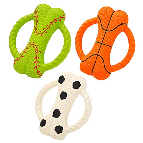 iplusmile Suministros para animales de compañía, 3 piezas de juguete para masticar, juguetes de perro, simulación o juguetes para animales de compañía