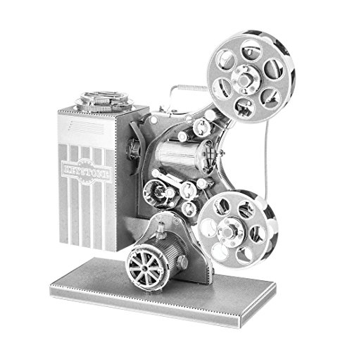 Price comparison product image Fascinations Metal Earth Movie Film Projector 3D Metal Model Kit