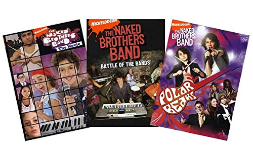 Ultimate Naked Brothers Band DVD Collection: The Movie / Battle of the Bands / Polar Bear [Nickelodeon]