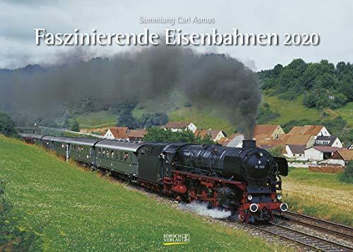 Faszinierende Eisenbahnen - Kalender 2020 - Korsch-Verlag - Fotokalender - 42 cm x 30 cm