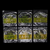 SimpleLife Classical Guitar Strings Set Guitarra clásica de 6 Cuerdas Clear Nylon Alice A108