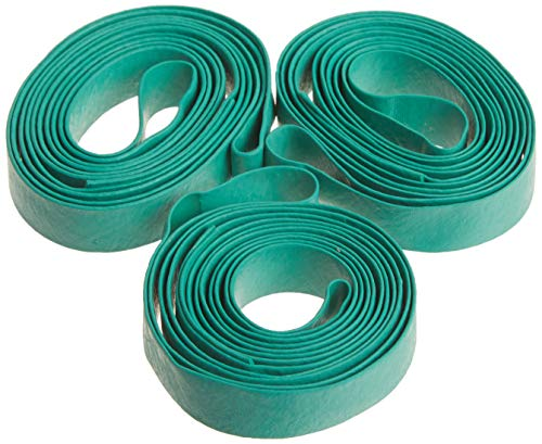 Duck Brand 284852 Elastic Moving Bands, 0.75 Inch Width and 72 Inch Inner Circumference, 3 Pack, Green/Tan (Band Color May Vary)