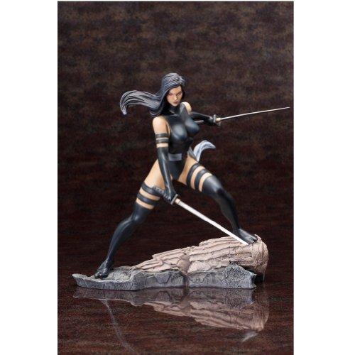Kotobukiya Marvel Comics X-Force Psylocke Fine Art Statue image
