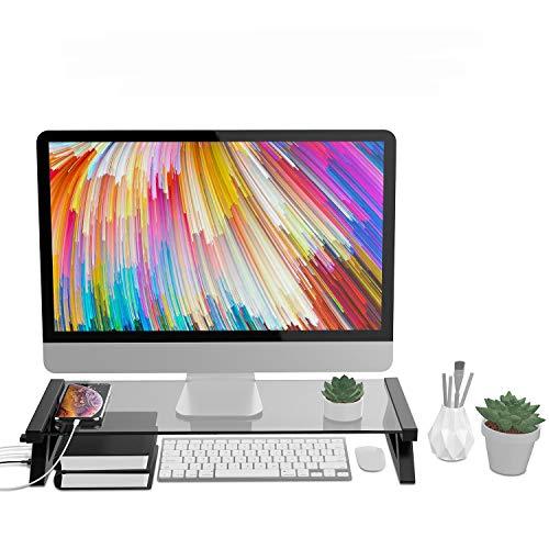 OverTop - Supporto per notebook USB in vetro temperato