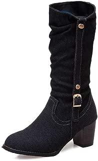 BalaMasa Womens ABS14044 Pu Boots
