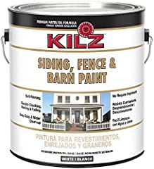 A good exterior paint offers coverage and protection against the elements, while adding beauty to outdoor structures. This is an all purpose exterior paint resists cracking, peeling and blistering. This paint features a unique water/oil base formula ...