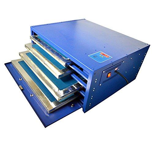 Techtongda 110V Screen Drying Cabinet 4 layers Screen Printing Equipment Temperature Control Plate Heating