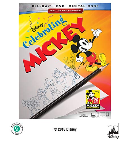 CELEBRATING MICKEY (HOME VIDEO RELEASE) [Blu-ray]