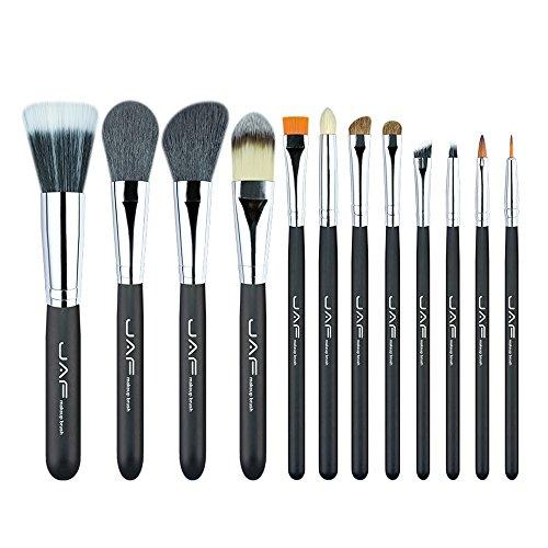 Pinceaux de maquillage 12 pcs Haute Qualité Make Up Brush Set Professionnel Cosmétique Beauté Maquillage Brosses et Outils Brosses et outils de maquillage des yeux