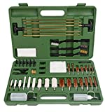 FIREGEAR Gun Cleaning Kit Universal Supplies for Hunting Rilfe Handgun Shot Gun Cleaning Kit for All Guns with Case