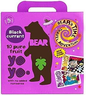 Bear Fruit Yoyos Blackcurrant Multipack - 5 x 20g