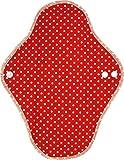 ビークロス 布ナプキン昼用 水玉 レッド(1枚入)