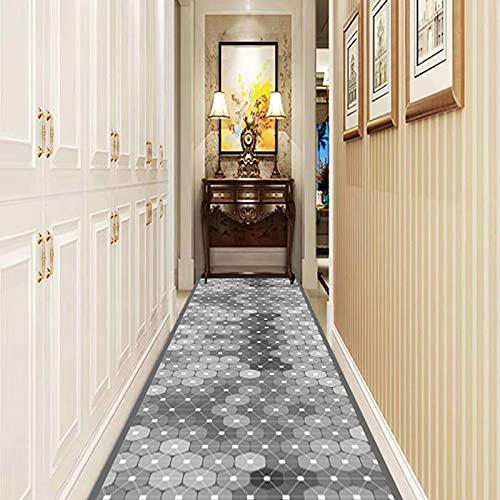LHYZF Tapis de Coureurs étroites contemporains pour Tapis Longs de Couloir, Tapis de Tapis pour Les escaliers de Couloir d