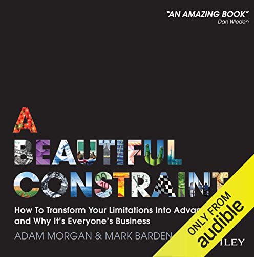 A Beautiful Constraint audiobook cover art