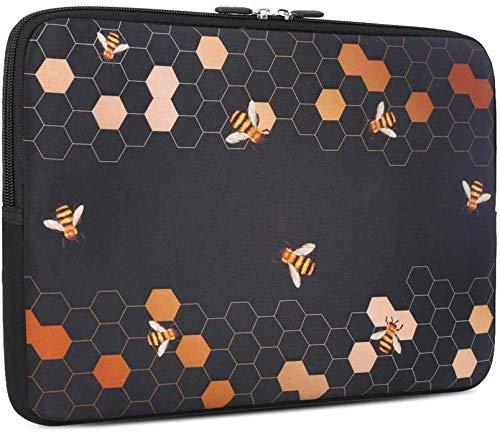 iCasso 13-13.3 Inch Laptop Sleeve, Neoprene Elegent Protective Notebook Bag Briefcase Cover Carrying Case MacBook Air, MacBook Pro, Tablet PC, Ultrabook, Netbook - Bee