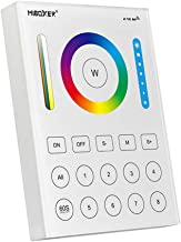 LGIDTECH Mi.Light B8 Wireless 2.4GHz 8-Zone RGB+CCT Wall Mounted Smart RF Panel Controller Powered By AAA Batteries For RG...