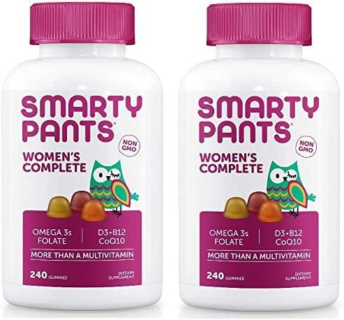 Sales results No. 1 Ranking TOP11 SmartyPants Women's Formula Gummy D3 C Vitamin Multivitamins: