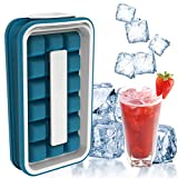 Ice Cube Moulds & Trays for Freezer Breaker Collapsible Portable Silicone Ice Cube Trays Pop Maker Easy-Release Flexible 36-Ice Trays for Home Travel Sports Outdoors