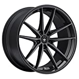 Konig OVERSTEER Gloss Black Wheel with Painted Finish (18 x 8. inches /5 x 114 mm, 35 mm Offset)