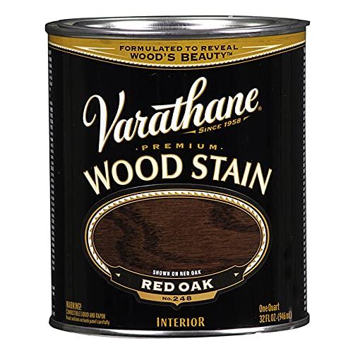 1 qt Rust-Oleum Brands 211723H Red Oak Varathane Oil-Based Interior Wood Stain Pack of 1