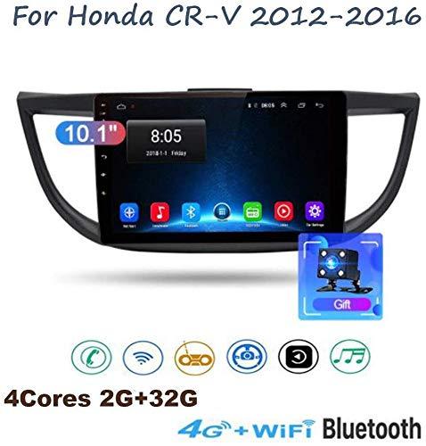 GLFDYC Android 8.1 GPS Navigation Stereo Radio, para Honda CRV 2012-2016, 10.1