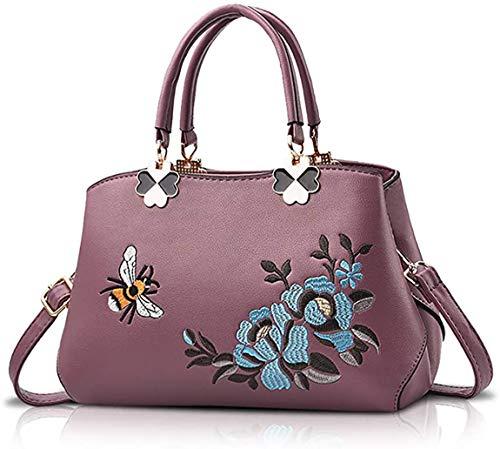 Oinna Bolso de mano para mujer, bolso de mano casual, bolso multifuncional, bolso bandolera para mujer, bolso de hombro ligero, para mujer, 27 x 11 x 19 cm, color, talla 27*11*19cm