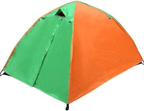 Fulitanghuang Tente extérieure, Tente de Famille avec Sac à Dos pour 2-3 Personnes campant à la Montagne pour la randonnée