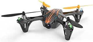 Hubsan X4 (H107C),4 Channel 2.4GHz RC Quad Copter with Camera-Black/Orange,with bonus batterydouble flying time+extra set of blades - Best Hobby Drone