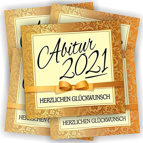 Play-Too 5 Aufkleber Etikett Flasche Sektflasche Weinflasche Bierflasche Abi Abitur Reifeprüfung 2021
