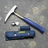 Geologenhammer als Paket 3 für z.B. Erstsemester mit Estwing Pickhammer