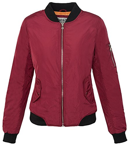 Old School Retro D-193 XS-XL Bomberjack voor dames, maat XS-XL