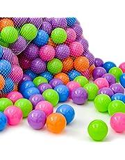 LittleTom Pelotas de Color Ø 6 cm para llenar Piscinas de Bolas para bebés