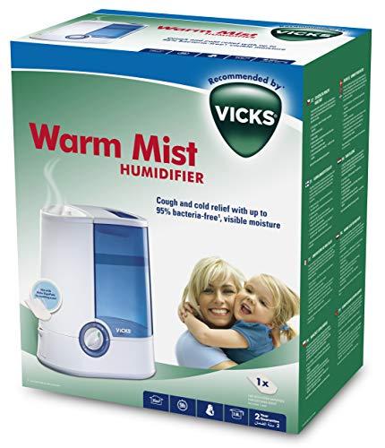 Vicks VH750 - Humidificador de vapor cálido