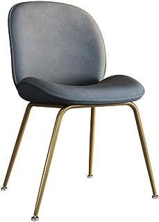 KOOU Sillas de Comedor de Cocina Modernas, sillas de Esquina para Sala de Estar con Patas de Acero al Carbono, lo Mejor para tocador de Dormitorio, sillas auxiliares de Mesa de salón