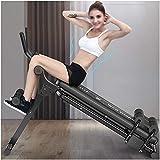 TXDWYF AB Plank, Muscles abdominaux Appareil de Fitness Sport, Planche pour Abdominaux et Gainage, L'appareil Abdominal, Appareil à Abdominaux Entraînement de Musculation, Pliable, Unisexe,Noir