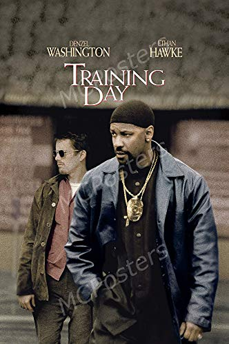 MCPosters - Training Day Denzel Washington Glossy Finish Movie Poster - MCP693 (24' x 36' (61cm x 91.5cm))