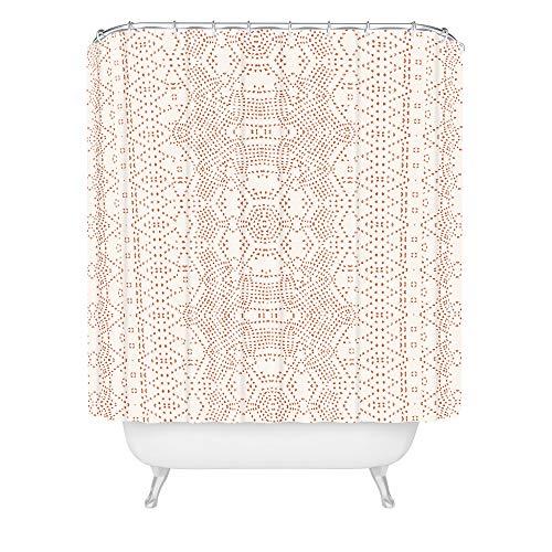 Deny Designs Holli Zollinger Marrakeshi-Duschvorhang, 182,9 x 175,9 cm, neutral