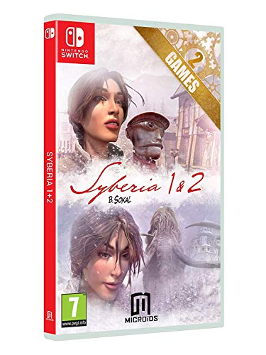 Pack: Syberia I + Syberia II