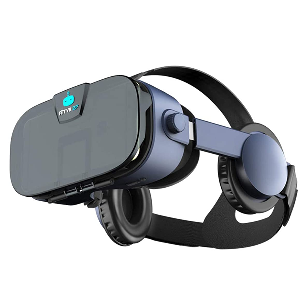 ZHJIUXING HO VR Headset, 3D VR Goggles Glasses for 3D Movies and Games Compatible with 4.0-6.33 Inches Smartphones