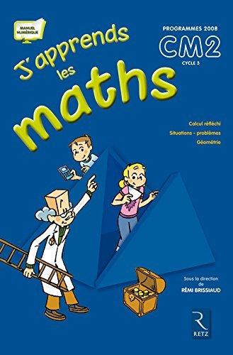 J'apprends maths CM2 Programmes 2008 : Pack en 2 volumes : Le manuel et le fichier d'activit??s by R??mi Brissaud (2010-04-15)