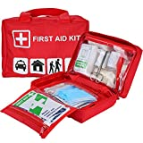 ProCase First Aid Kit, All-Purpose Survival Kit with 96 Pieces Outdoor Emergency Supplies