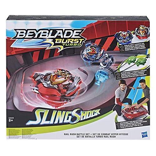 Bey Blade Rail Rush Battle Set