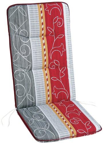 BEST 05200772 Coussin pour Fauteuil à Dossier Haut 120 x 50 x 6 cm