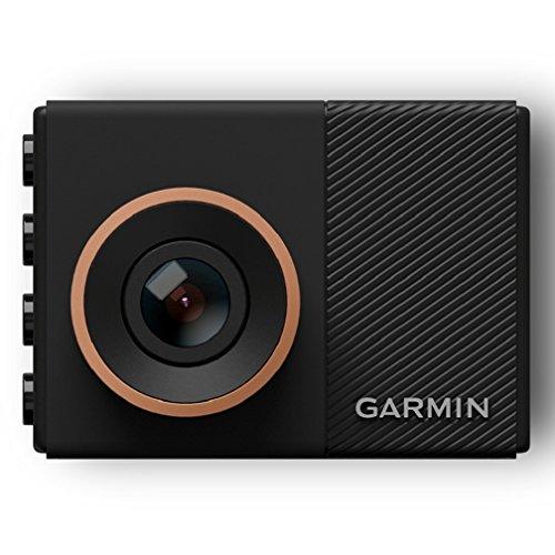 Garmin Dash Cam 55 1440p GPS Camera with Voice Control, Black/Brown