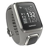 Tomtom Golfer 2 - Reloj de pulsera GPS para hombre, color gris, talla S