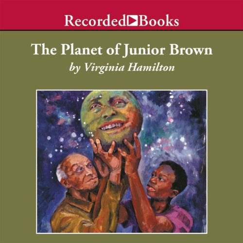 The Planet of Junior Brown audiobook cover art