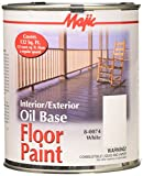 YENKIN MAJESTIC PAINT INT/EXT OB 8-0074-2 0074-2 White Interior/Exterior Oil Base FLR QT